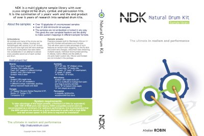 NDK  DVD Cover